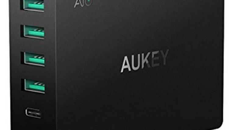 Aukey-6-Port-USB-Quick-Charger – 60 W Schnelllader mit sechs Ports