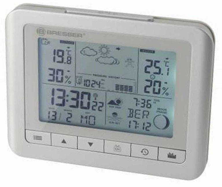 Bresser Funkwetterstation TemeoTrend WFW mit Wecker, Wettervorhersage und Außensensor im Test