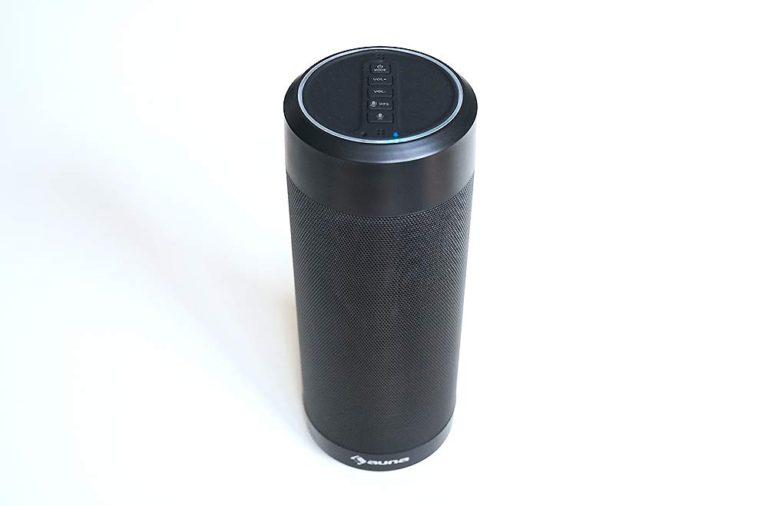 Auna Intelligence Tube – Bluetooth-/WiFi-Lautsprecher mit Alexa Sprachsteuerung im Test