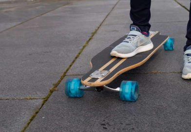 Feldus 41″ Longboard Drop Through Skateboard von Yorbay im Test – Surfspaß auch auf der Straße