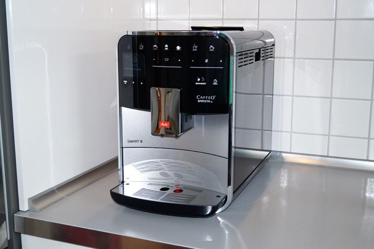 Smarter Kaffeevollautomat Melitta Barista TS Smart im Test