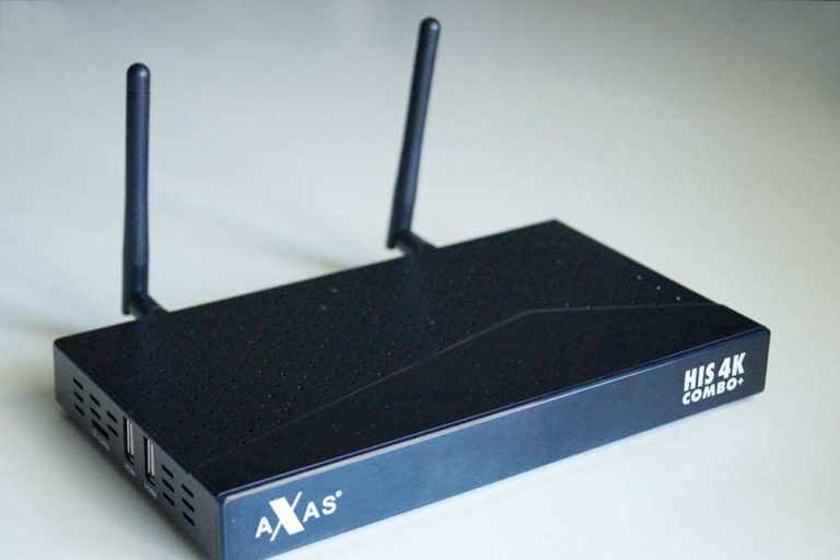 Axas His 4K Combo+ SAT Kabel DVB-T2 Linux E2 und Android TV Receiver