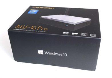 AW-10 Pro von Orbsmart im Test – Kompakter Mini PC in einem lüfterlosen Gehäuse
