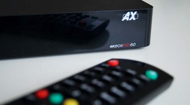 Linux-Satelliten Receiver-Test: AX 4K-Box HD60 4K UHD E2 Linux im Test