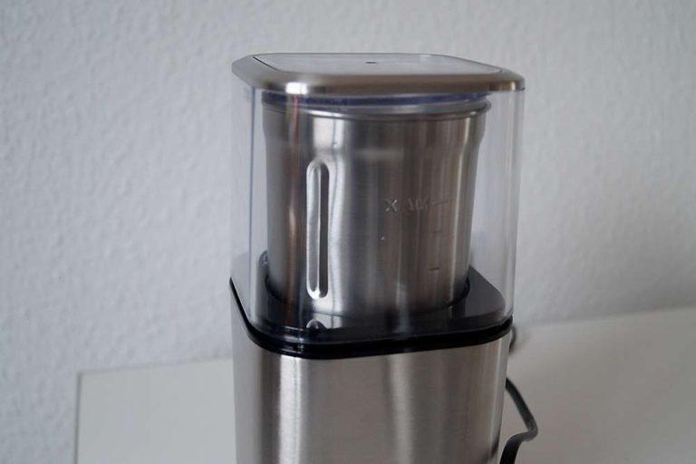 Elektrische Gewürz- und Kaffeemühle EGK 200 von Rommelsbacher im Test