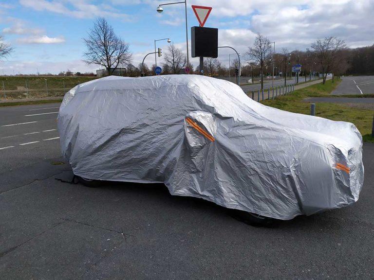 Audew Autoabdeckung im Kurztest: Sonnen-, Staub und Korrisionsschutz für das Auto