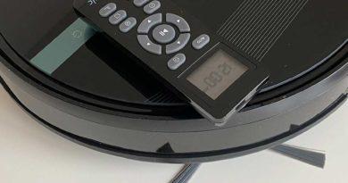 Nasswischroboter Proscenic 850 T WLAN Saugroboter mit Alexa und Google Home Unterstützung