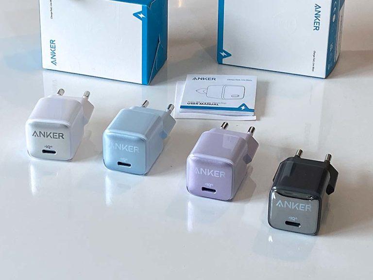 USB-Typ C Ladegerät : Anker PowerPort III Nano Pro 20W -Ultrakleines USB-C Ladegerät mit Schnellladeleistung (PowerIQ 3.0) im Praxistest