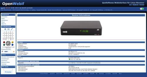 AX 4K-Box HD60 4K UHD E2 Linux