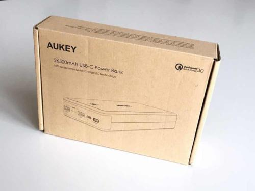 Aukey Powerbank USB-TypC Model PB-Y3