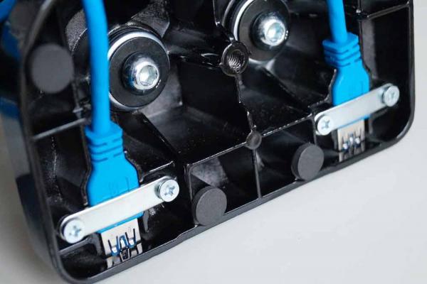 Auna Monitortischhalterung mit USB - LDT09-C024U