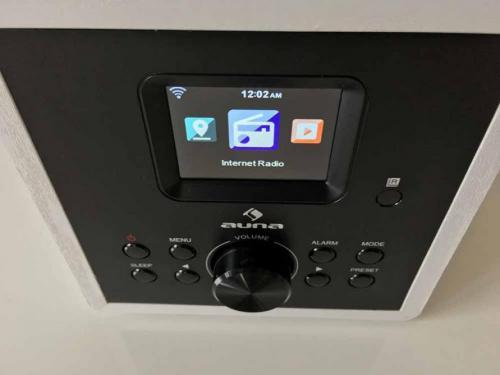 Radio Auna Gaga 2.0 FM, DAB+ und Internetradio mit Bluetooth