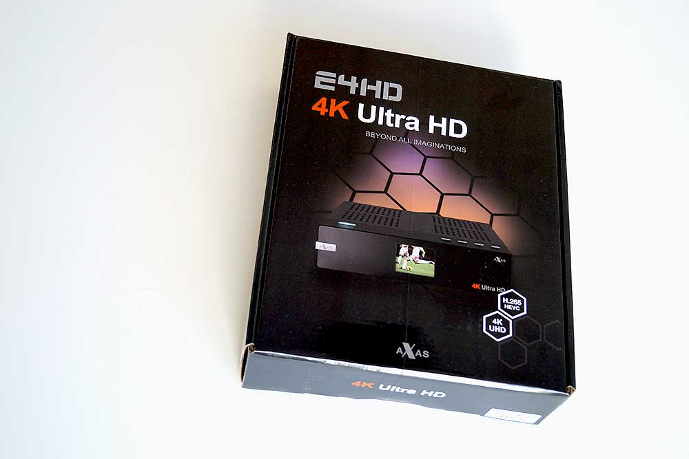 Axas E4HD 4K Ultra HD