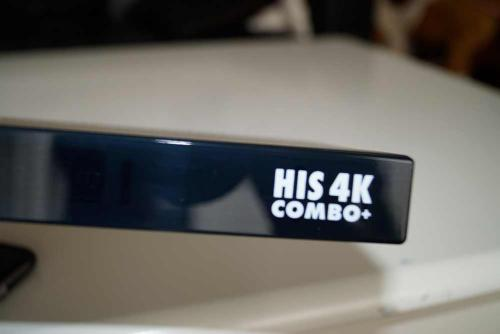 Axas His 4K Combo+ SAT Kabel Linux E2 Receiver UHD