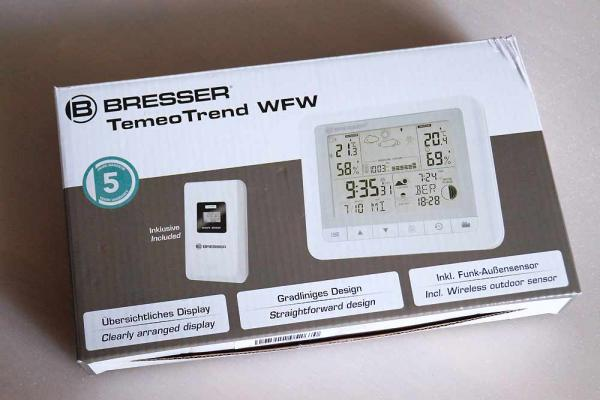 Bresser Funkwetterstation TemeoTrend WF