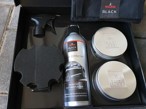 Nigrin Pflegeserie Black Label