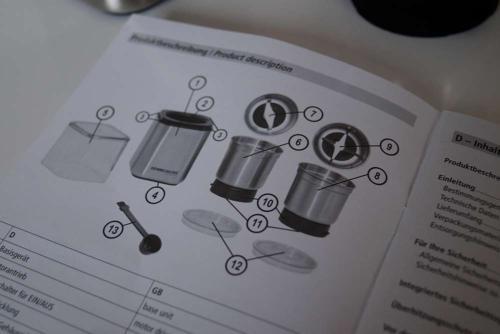 Rommelsbacher Gewürz- und Kaffeemühle im Test