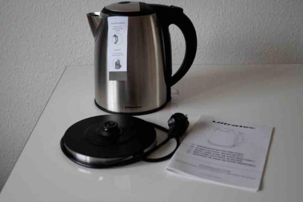 Ultratec WK30 Edelstahl-Wasserkocher