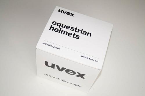 Uvex Perfexxion II Reithelm - Praxistest TestMagazine