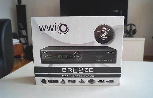 WWIO Bre2ze 4K Satellitenreceiver