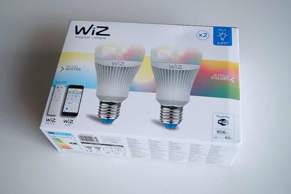 2er Set WiZ Colors A.E27 11,5 Watt